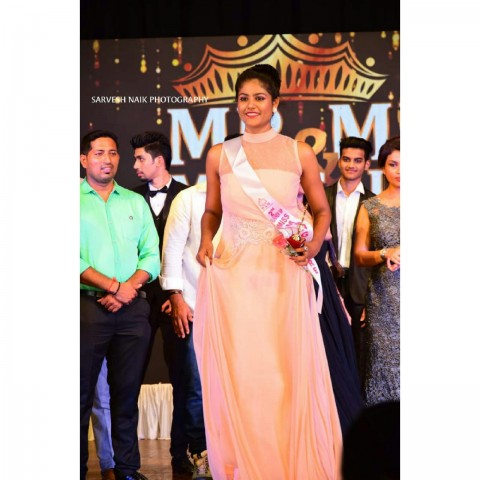 MISS MANGALORE SECOND RUNNER UP