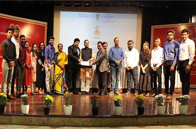 COA  AWARD FOR EXCELLENCE IN DOCUMENTATION OF ARCHITECTURAL HERITAGE-2018 TO SRINIVAS SCHOOL OF ARCHITECTURE